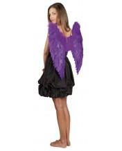 skrzydła anioła gigant fioletowe 65 x 65 cm