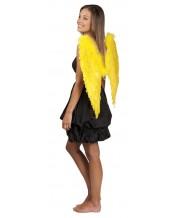 skrzydła anioła gigant żółte 65 x 65 cm