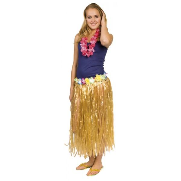 Spódnica hawajska złota 80 cm sklep internetowy partytino
