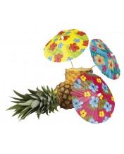 parasolki hawajskie 18cm 6szt.